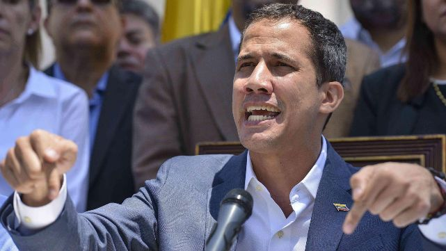 Guaidó: El líder opositor advirtió