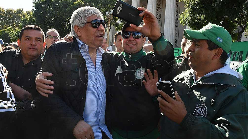 Junto al Frente Sindical, Moyano organizó ollas populares en protesta contra el Gobierno