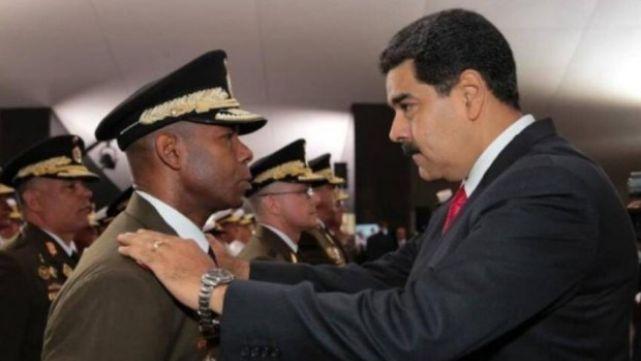 Maduro identificó a ex jefe de Inteligencia