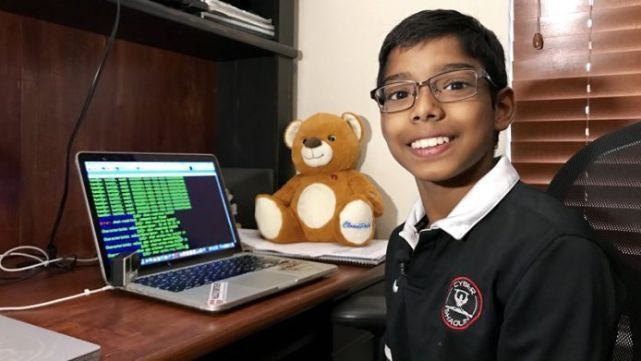 Nene de 13 hackeó un drone en 10 minutos