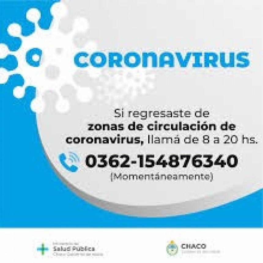 Salud actualizó el parte epidemiológico Provincial