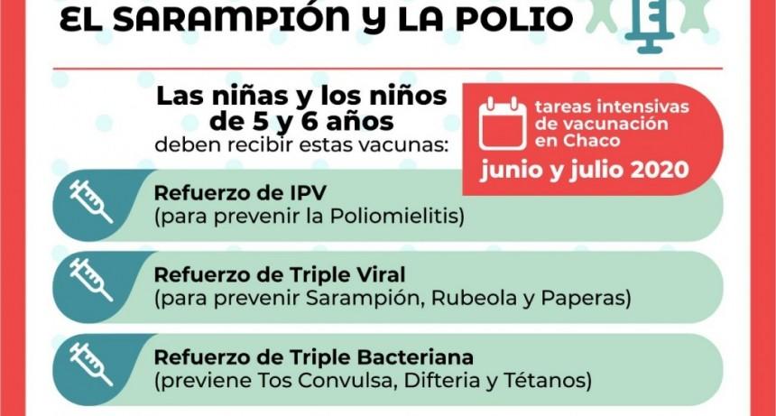 Salud Pública lanzará la cruzada provincial para prevenir el sarampión y la polio