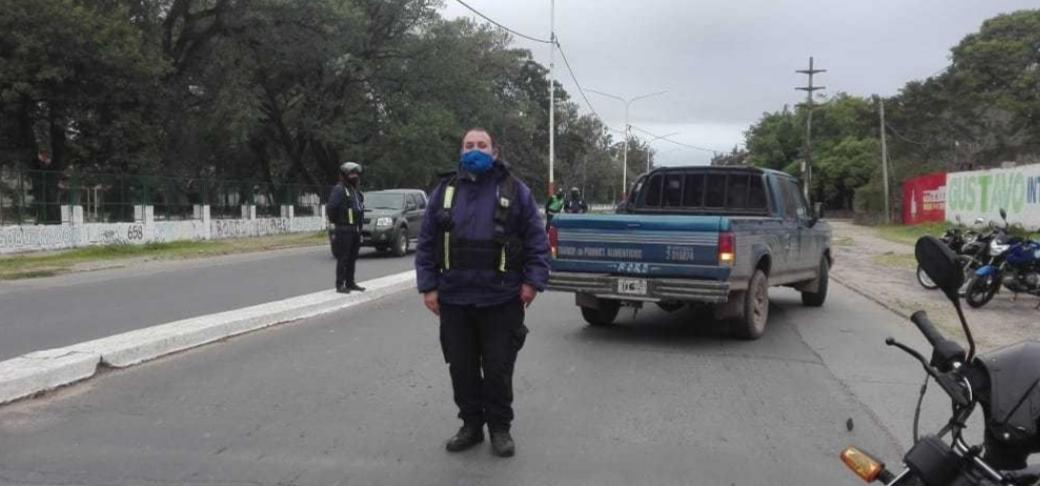 Controles en Resistencia: 15 vehículos fueron trasladados al corralón municipal  Uno de los puesto de control estuvo ubicado en avenidas Las Heras y Castelli