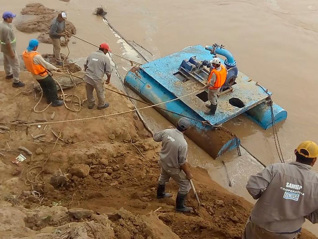 SAMEEP reasignó con éxito la toma de agua de El Sauzalito