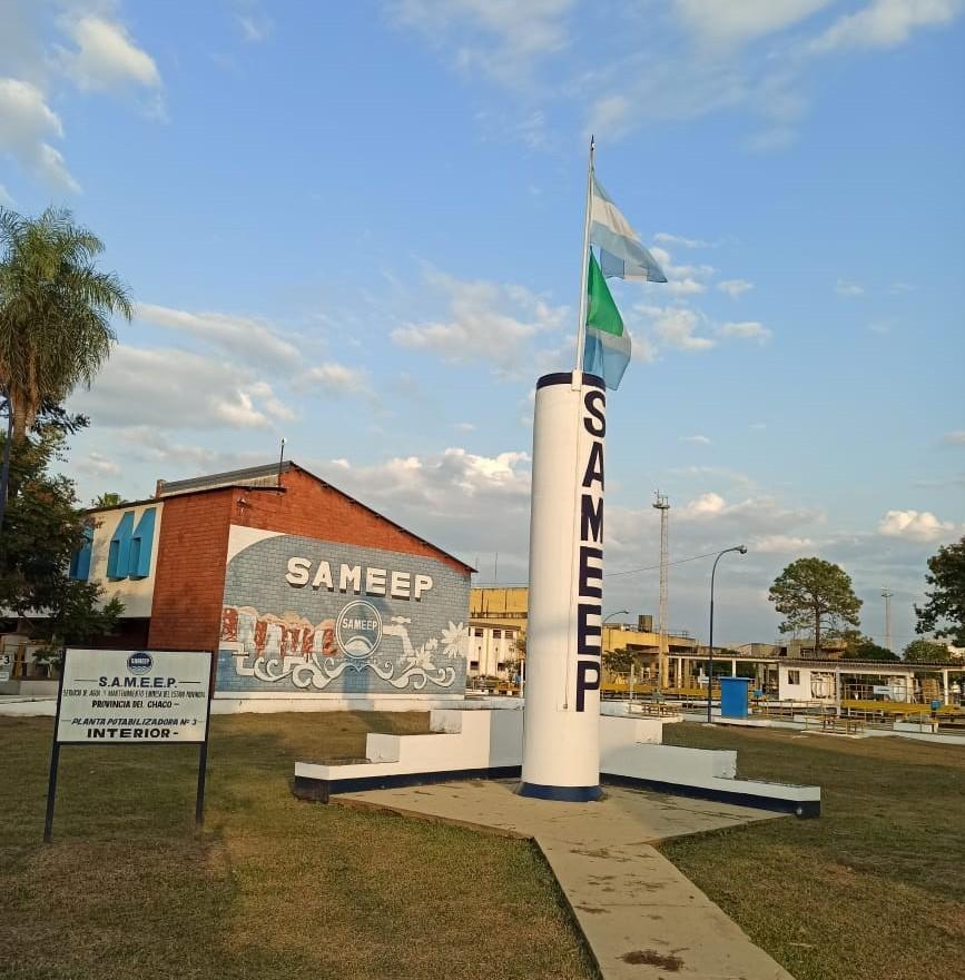 Bajante del Paraná: Sameep garantiza la potabilización y distribución de agua potable