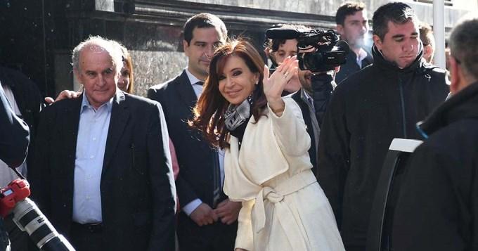 Cristina anunció la conformación del frente