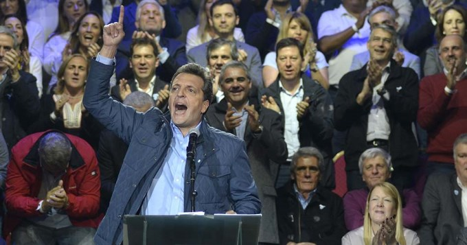 Massa será primer candidato a senador