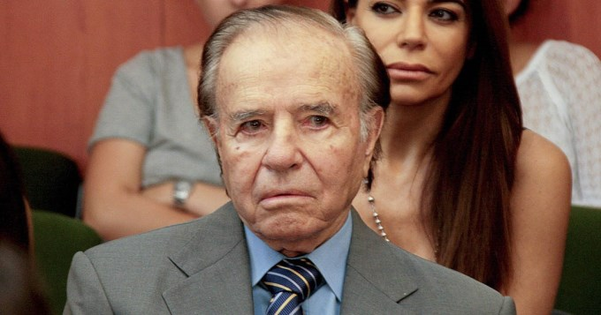 Siete años de cárcel para Menem