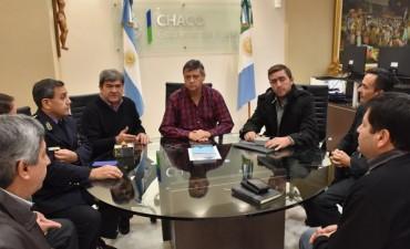 PEPPO RECIBIÓ AL OFICIAL CHAQUEÑO QUE SE CAPACITÓ EN ANTISECUESTRO Y ANTIEXTORSIÓN EN COLOMBIA