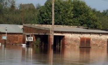 En Corrientes están tapados por el agua