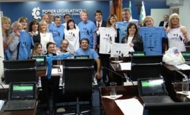 La Cámara de Diputados del Chaco  se suma a la Maratón Convivencia
