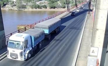 Al estado del Puente Chaco Corrientes ya se lo puede ver en vivo
