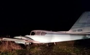Interceptaron una avioneta con 450 kilos de marihuana