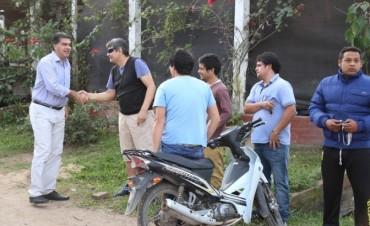 Capitanich recorrió Villa Odorico: Acuerdan con vecinos  agenda de trabajos prioritarios