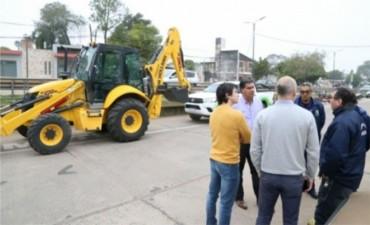Capitanich presentó nueva maquinaria adquirida por el municipio