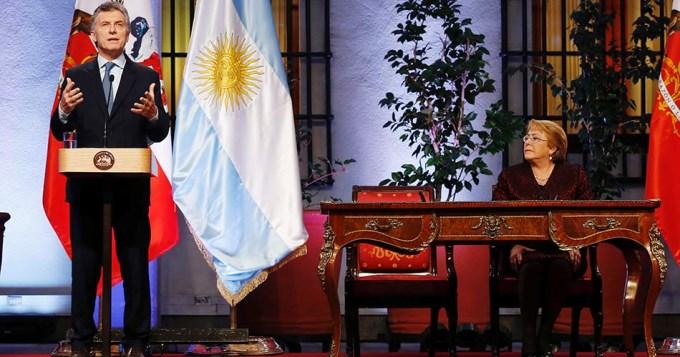Macri y Bachelet llamaron a avanzar en alianza Pacífico-Mercosur
