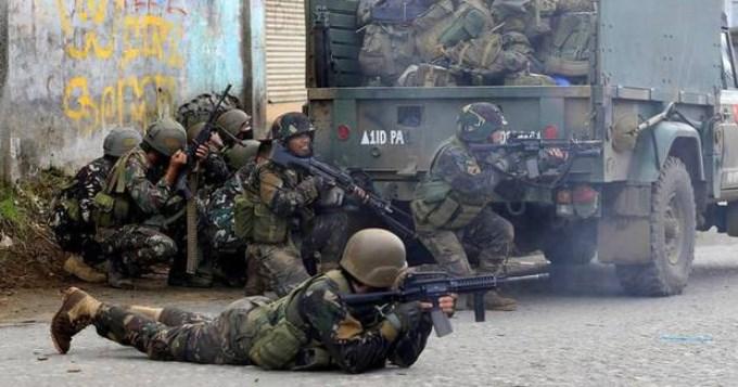 Matan por error a 10 soldados filipinos