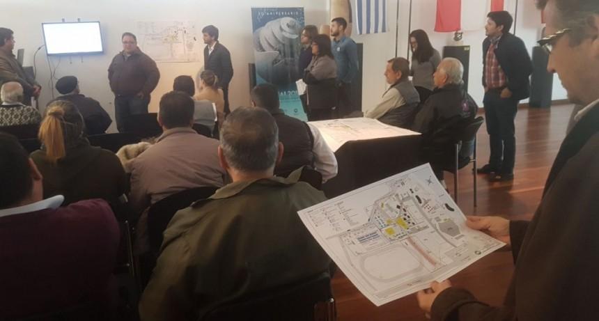 Municipio y Fundación Urunday coordinan acciones de cara a la realización de la Bienal de Esculturas