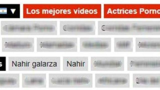 Caso Nahir Galarza: sorpresa en un conocido sitio porno