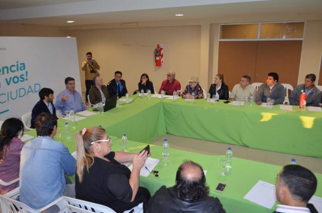 Capitanich encabezó una nueva reunión del Consejo Municipal de Seguridad Pública