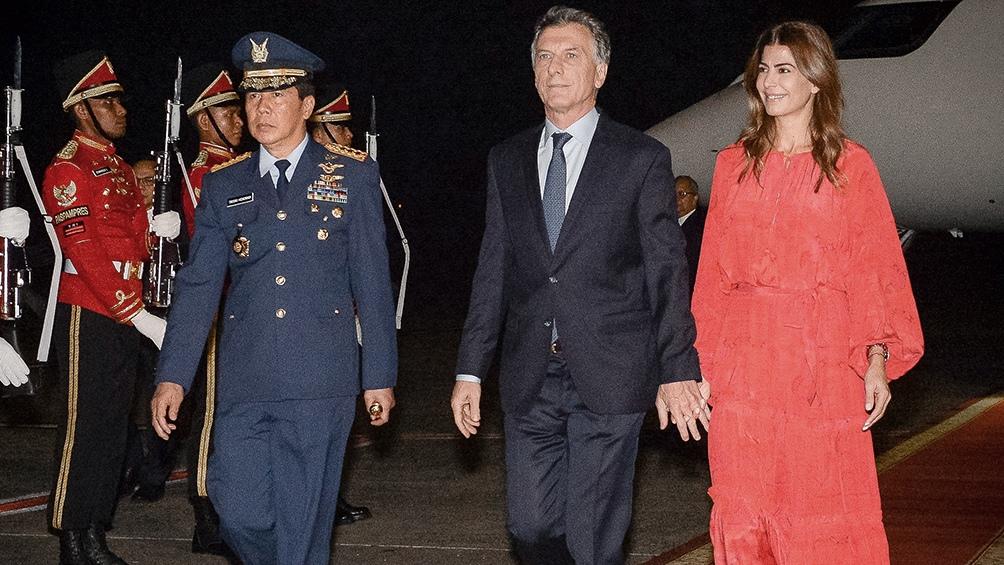La visita de Macri a Indonesia en fotos