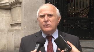 La detención de un ex jefe policial antinarcóticos agitó el cierre de campaña