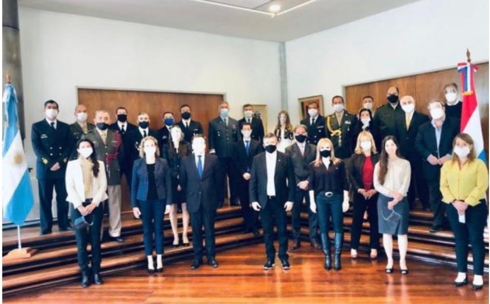 Oscar Domingo Peppo asumió oficialmente en la Embajada de Argentina en Paraguay