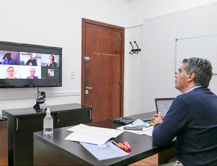 Chaco: Capitanich se reunió con referentes de instituciones que atienden a personas con discapacidad en la provincia