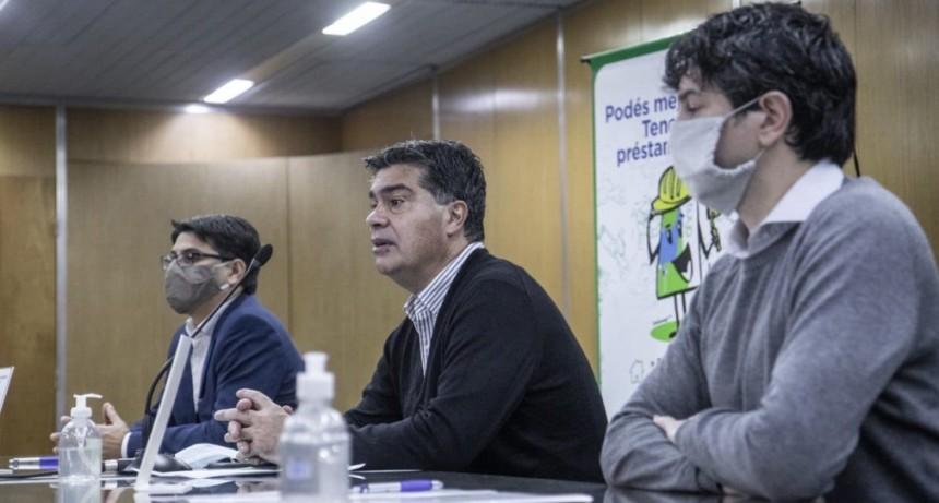 Reactivar la economía: Capitanich lanzó línea de préstamos con tasa subsidiada para compra de materiales de construcción