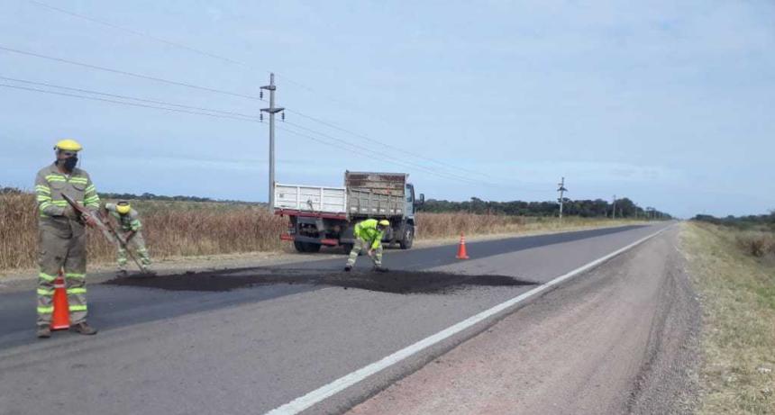 Continúan las obras de mantenimiento en rutas chaqueñas y convocan a tomar las precauciones necesarias