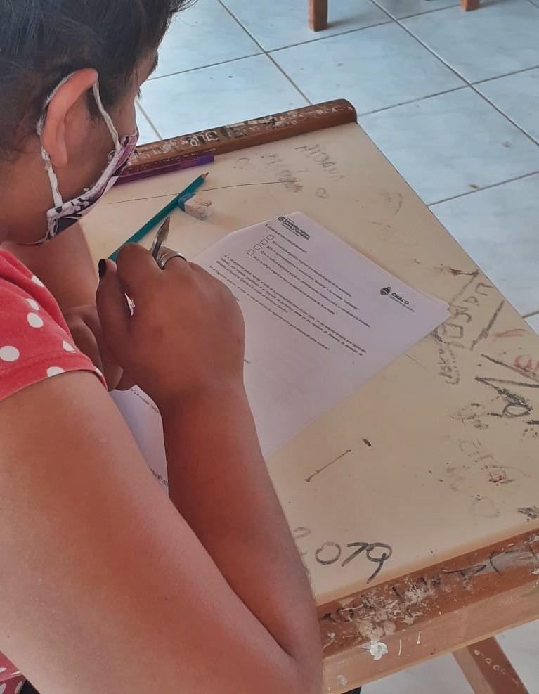 Educación realizó devoluciones a las escuelas sobre los resultados del dispositivo de evaluación chaqueño 2020