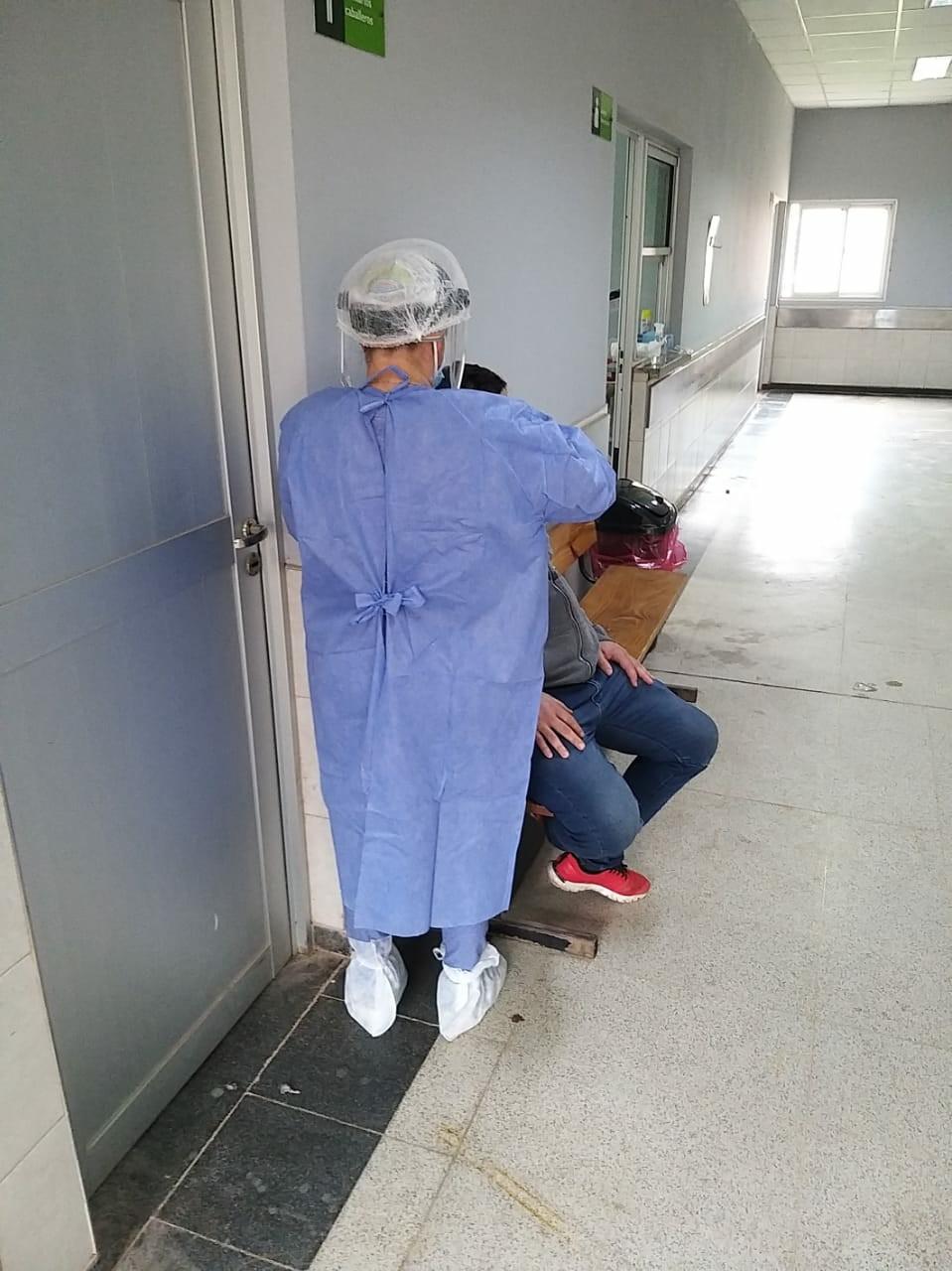 Castelli: habilitaron consultorio de febriles para atención de pacientes con síntomas de covid-19