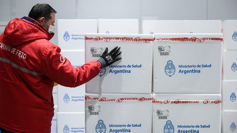 Comienza la distribución en todo el país de más de 470 mil vacunas Sputnik V