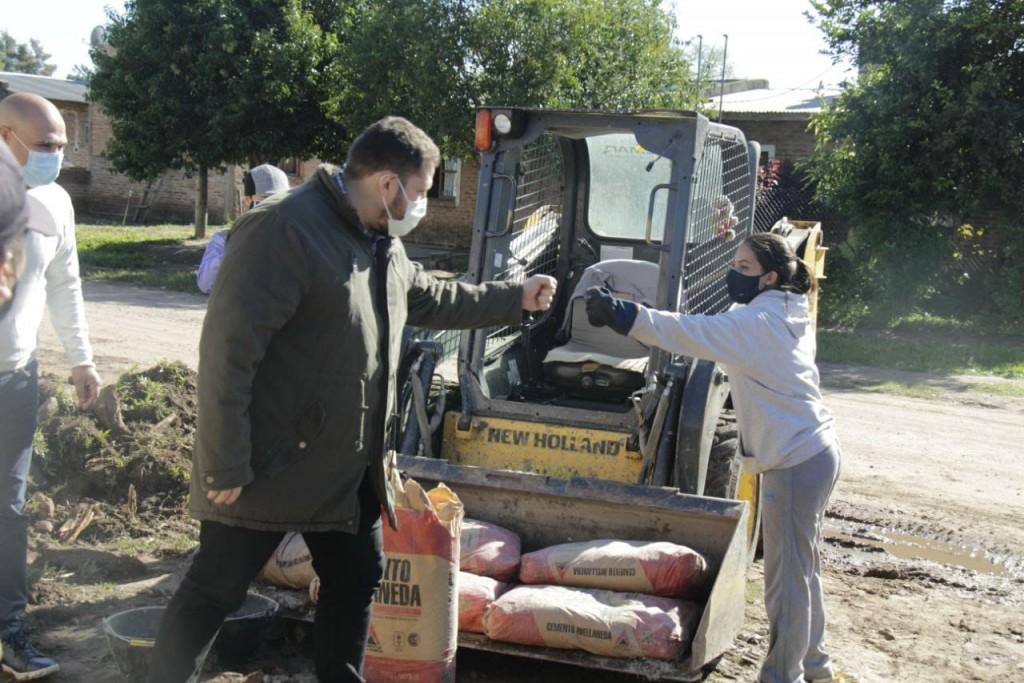 Programa Argentina hace: destacan el ritmo de trabajo de los municipios del Chaco