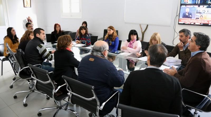 El intendente se reunió con la comisión evaluadora del proyecto de la Planta de Disposición Final de Residuos