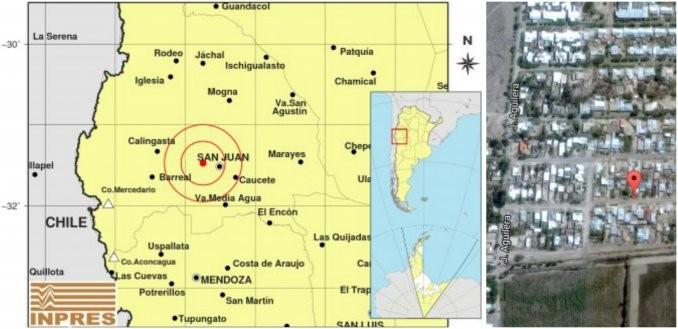 Susto por fuerte sismo de 4,3 grados en la escala de Richter en San Juan
