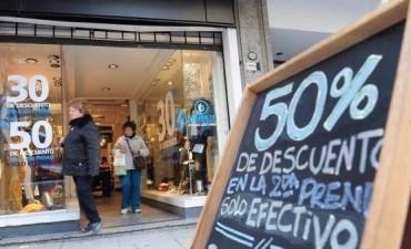 Caída en las ventas de comercios minoristas