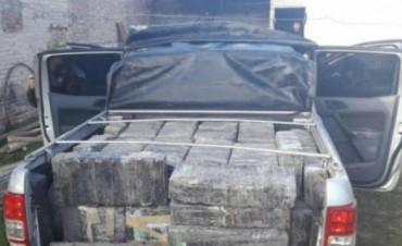 Secuestraron una tonelada de marihuana en Chaco