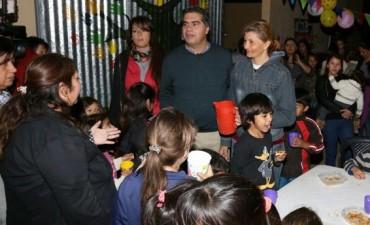 Inauguración del Centro de Gestión y Capacitación del Barrio La Rubita