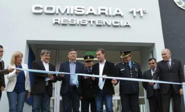 PEPPO INAUGURÓ LA NUEVA COMISARIA 11° DEL BARRIO PROVINCIAS UNIDAS: