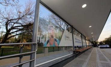 Inauguraron el nuevo refugio para pasajeros y los accesos principales al Campus de la UNNE
