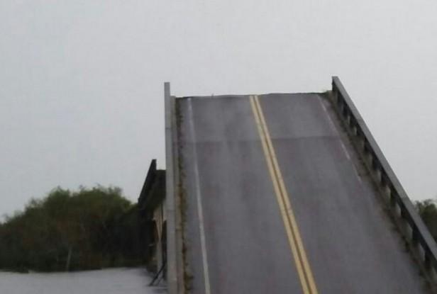 Estos son los desvíos tras el colapso del puente Santa Rosa
