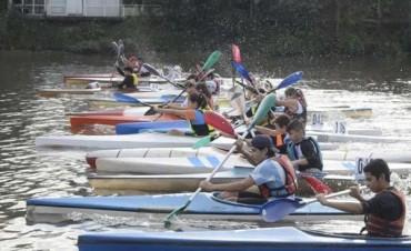 Exitosa fiesta del canotaje en Regatas