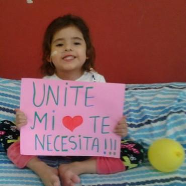 Francesca tiene una seria cardiopatía y necesita $1 millón para operarse en EEUU