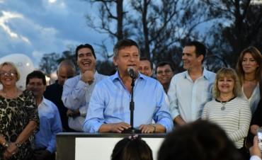 PEPPO INAUGURÓ EL PARQUE DE LA INTEGRACIÓN EN BARRANQUERAS: