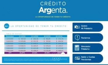Ya se pueden pedir online los préstamos para beneficiarios de AUH y pensiones