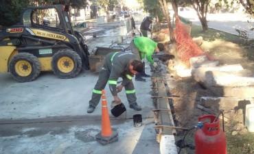 El Municipio incrementa trabajos de bacheo en Resistencia