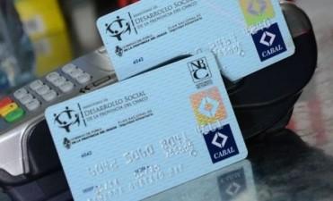 Desarrollo Social acreditó tarjetas alimentarias