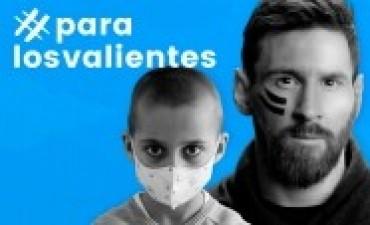 Messi suma deportistas a la campaña contra el cáncer infantil