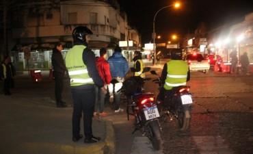 Secuestraron 20 motos y 18 autos durante un operativo de control de alcoholemia